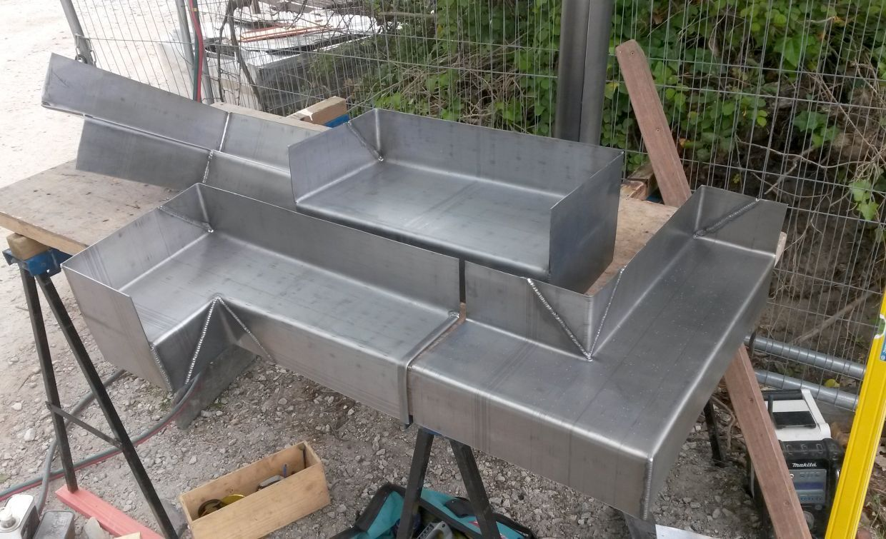 Projects Cavity Trays Tim Fuge Leadwork